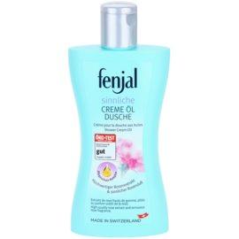 Fenjal Rose krémový sprchový gel s přídavkem oleje  200 ml