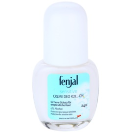 Fenjal Sensitive krémový deodorant roll-on 24H  50 ml