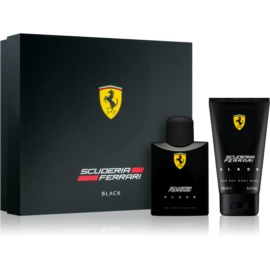 Ferrari Scuderia Ferrari Black Gift Set IV.  Eau De Toilette 75 ml + Shower Gel 150 ml