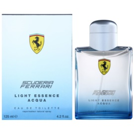 Ferrari Scuderia Ferrari Light Essence Acqua toaletná voda unisex 125 ml