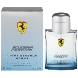 Ferrari Scuderia Ferrari Light Essence Acqua toaletná voda unisex 75 ml
