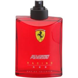 Ferrari Scuderia Farrari Racing Red toaletní voda tester pro muže 125 ml