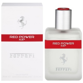 Ferrari Ferrari Red Power Ice 3 Eau de Toilette voor Mannen 75 ml
