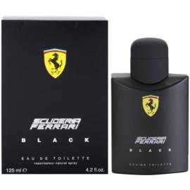 Ferrari Scuderia Ferrari Black Eau de Toilette pentru barbati 125 ml