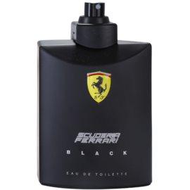 Ferrari Scuderia Ferrari Black туалетна вода тестер для чоловіків 125 мл