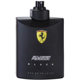 Ferrari Scuderia Ferrari Black eau de toilette teszter férfiaknak 125 ml