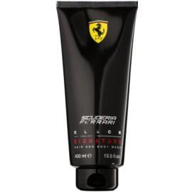 Ferrari Scuderia Ferrari Black Duschgel für Herren 400 ml