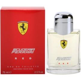 Ferrari Scuderia Ferrari Red Eau de Toilette für Herren 75 ml