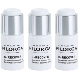Filorga Medi-Cosmetique Anti-Fatigue serum za osvetljevanje za utrujeno kožo (C-Recover) 3 x 10 ml