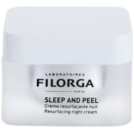 Filorga Medi-Cosmetique Wrinkles obnovující noční krém pro rozjasnění a vyhlazení pleti Sleep and Peel 50 ml