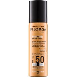 Filorga Medi-Cosmetique UV Bronze spray protetor hidratante e refrescante contra os sinais de envelhecimento da pele SPF 50  60 ml