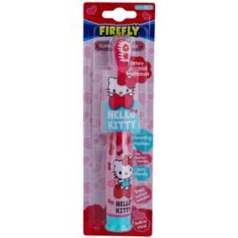 FireFly Hello Kitty vibrační zubní kartáček s baterií soft