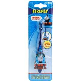 FireFly Thomas & Friends escova de dentes para crianças com suporte soft  (2 - 6)