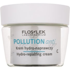 FlosLek Laboratorium Pollution Anti crema de noche hidratante con efecto regenerador  50 ml