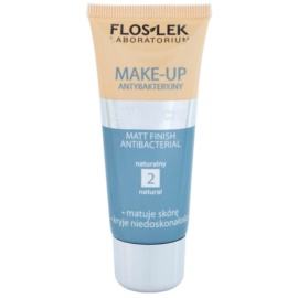 FlosLek Laboratorium Anti Acne matující make-up antibakteriální odstín 2 Natural 30 ml