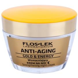 FlosLek Laboratorium Anti-Aging Gold & Energy Reinforcing Night Cream  50 ml