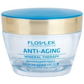 FlosLek Laboratorium Anti-Aging Mineral Therapy vyplňující denní krém SPF15  50 ml