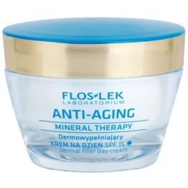 FlosLek Laboratorium Anti-Aging Mineral Therapy vyplňující denní krém SPF 15  50 ml
