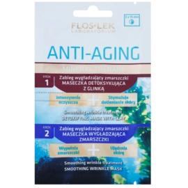 FlosLek Laboratorium Anti-Aging Mineral Therapy Anti-Wrinkle Treatment With Minerals  2 x 5 ml