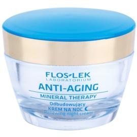 FlosLek Laboratorium Anti-Aging Mineral Therapy crema de noche renovadora   50 ml