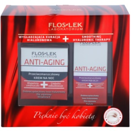 FlosLek Laboratorium Anti-Aging Hyaluronic Therapy козметичен пакет  I.