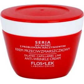 FlosLek Laboratorium Dilated Capillaries verfeinernde Crem gegen Falten  50 ml