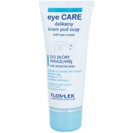 FlosLek Laboratorium Eye Care jemný oční krém pro citlivou pleť  30 ml