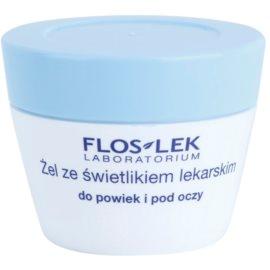 FlosLek Laboratorium Eye Care gel na oční okolí se světlíkem lékařským  10 g