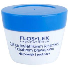 FlosLek Laboratorium Eye Care gel para o contorno dos olhos com eufrásia e centáurea  10 g