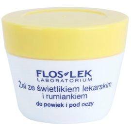 FlosLek Laboratorium Eye Care gel na oční okolí se světlíkem a heřmánkem  10 g
