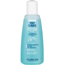 FlosLek Laboratorium Eye Care odličovač očního make-upu 2 v 1  135 ml