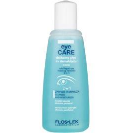 FlosLek Laboratorium Eye Care Entferner für Augen-Make-up 2in1  135 ml