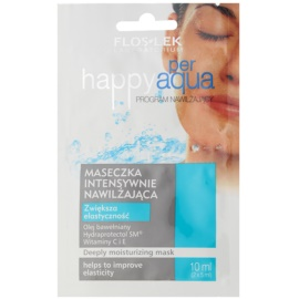 FlosLek Laboratorium Happy per Aqua intensive hydratisierende Maske    2 x 5 ml
