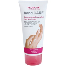 FlosLek Laboratorium Hand Care Nourishing Handcreme für trockene und beanspruchte Haut  100 ml