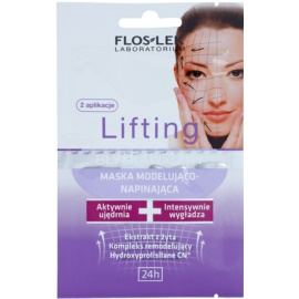FlosLek Laboratorium Lifting Immediate masque visage effet remodelant  2 x 5 ml