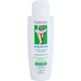 FlosLek Laboratorium Intimate Care gel regenerador para higiene íntima   200 ml