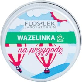 FlosLek Laboratorium Lip Vaseline Adventure Lippenbalsam Geschmack Grape Flavour 15 g