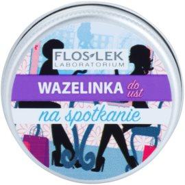 FlosLek Laboratorium Lip Vaseline Meeting балсам за устни вкус Caramel Flavour 15 гр.