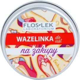 FlosLek Laboratorium Lip Vaseline Shopping бальзам для губ присмак Mango Flavour 15 гр
