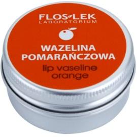 FlosLek Laboratorium Lip Care Orange Vaseline für Lippen  15 g