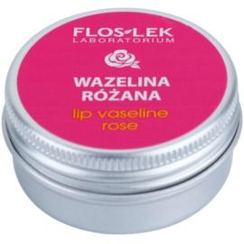 FlosLek Laboratorium Lip Care Rose vazelína na rty  15 g