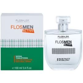 FlosLek Laboratorium FlosMen Active туалетна вода для чоловіків 100 мл
