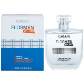 FlosLek Laboratorium FlosMen Young Eau de Toilette para homens 100 ml