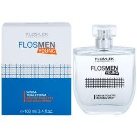 FlosLek Laboratorium FlosMen Young toaletna voda za moške 100 ml