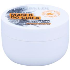 FlosLek Laboratorium Natural Body Mango & Passion Fruit regenerační tělové máslo s vyhlazujícím efektem  240 ml