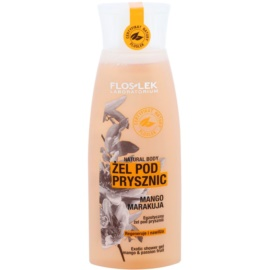 FlosLek Laboratorium Natural Body Mango & Passion Fruit sprchový gel s hydratačním účinkem  250 ml