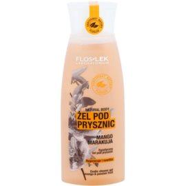 FlosLek Laboratorium Natural Body Mango & Passion Fruit tusfürdő gél hidratáló hatással  250 ml