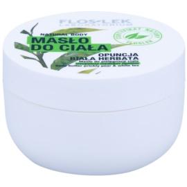 FlosLek Laboratorium Natural Body Prickly Pear & White Tea regenerierende Körperbutter mit feuchtigkeitsspendender Wirkung  240 ml