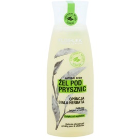 FlosLek Laboratorium Natural Body Prickly Pear & White Tea gyengéd tusfürdő gél kisimító hatással  250 ml