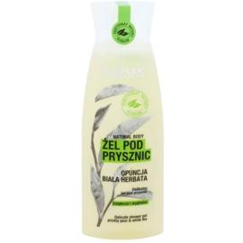 FlosLek Laboratorium Natural Body Prickly Pear & White Tea jemný sprchový gel s vyhladzujúcim efektom  250 ml